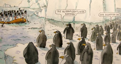 Migration Cartoon Liebermann